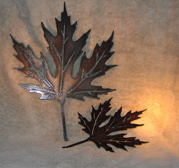 Metal Leaf Wall Decor leaf wall decor | winda 7 furniture