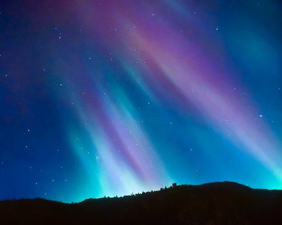Northern lights starry sky night zodiac winter photo constellations ...