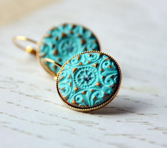 turquoise and gold | SouthwestDesertLover