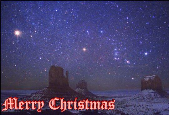 Mars and Orion over Monument Valley: http://apod.nasa.gov/apod ...