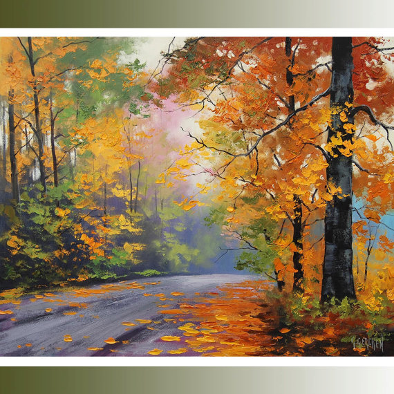 Fine art painting southwestdesertlover page 3 for Autumn tree painting
