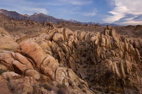 Alabama Hills near Lone Pine