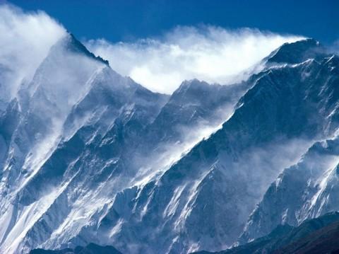 Everest, Lhotse, Himalayan Peaks, Nepal