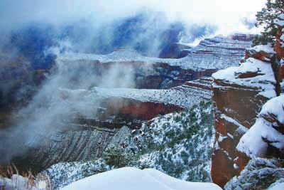 Grand Canyon Snowfall