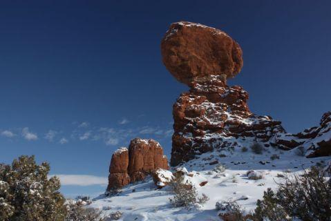 Moab snow