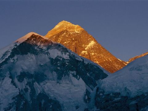 Evening Mount Everest