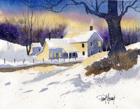 Snowfall-Print