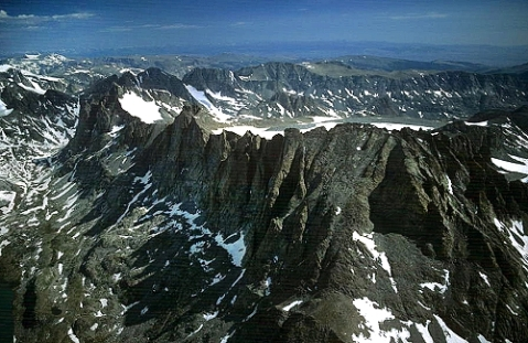 Titcomb Basin Cliffs, Wind River Range