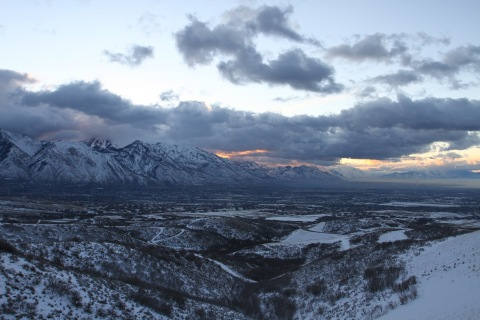 Wasatch Mountains in Alpine / Draper area