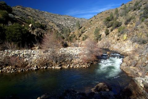 Light Rapids Along The Kern River