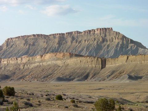 Mancos Shale slopes Gates of the Arctic