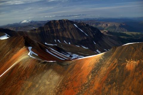 Mount Edziza the highest confirmed volcano in Canada