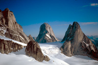 Purcell Mountains spires