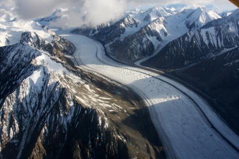 Stairway Glacier (Kaskawulsh Glacier), Kluane National Park & Reserve
