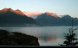 Chigmit Mountain Range Crescent Lake