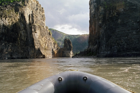 The Gate, South Nahanni River