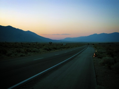 Route 395 Sunset