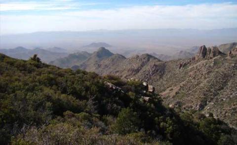 Arizona's Wabayuma Peak