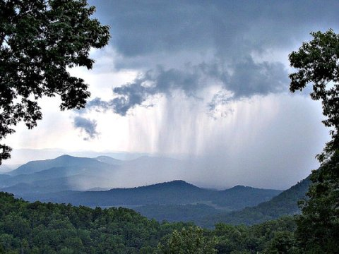 Blue Ridge Mountains Rain