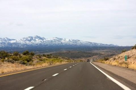 Hualapai Peak from I-40W