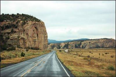 road thru el malpais