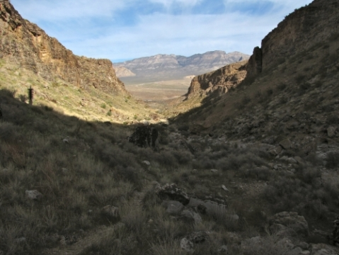 Echo Canyon - Fossil Ridge Loop
