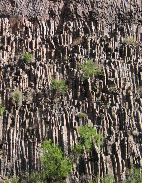 GC Basaltic columns
