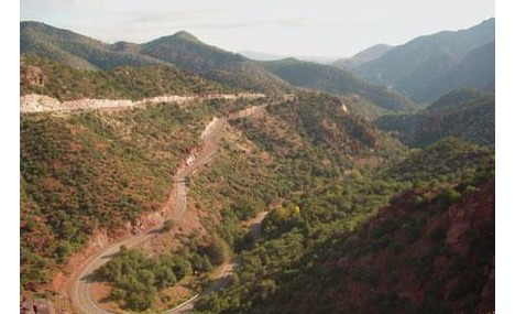 Highway 191 near Morenci AZ
