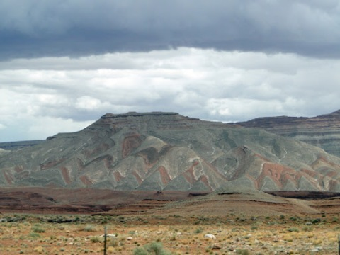 painted rocks north of mexican hat area utah