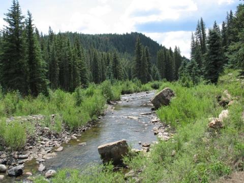 Piedra River Hot springs