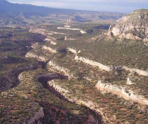 Crow Canyon aerial