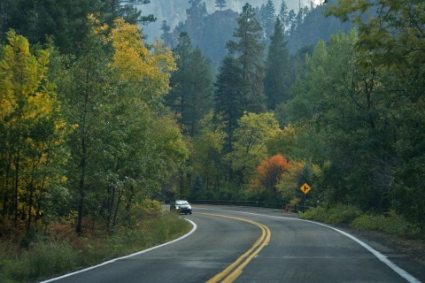 oak creek canyon road