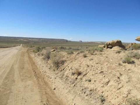 Road to Chaco Canyon