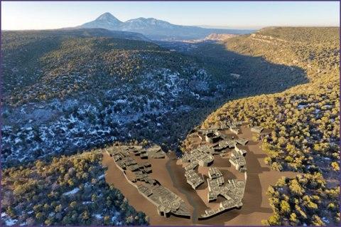 Sand Canyon Pueblo housing