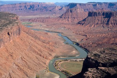 Colorado River upstream from Moab