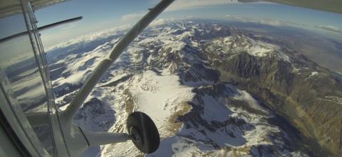 Mount Dana aerial