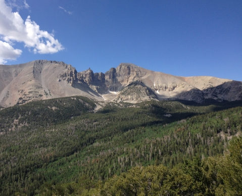Wheeler Peak, highest mountain in the Snake Range