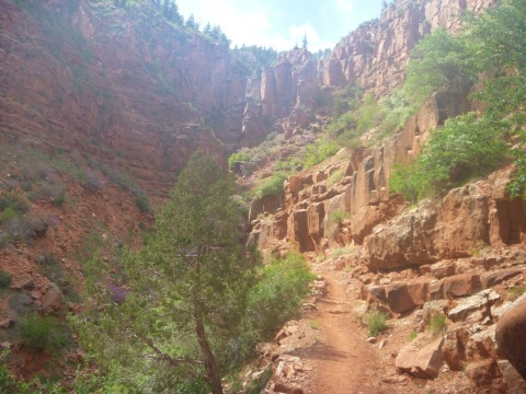 North Rim of the Grand Canyon, North Kaibab Trail