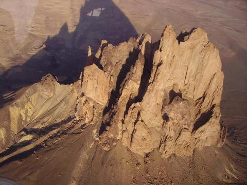 Shiprock Geology