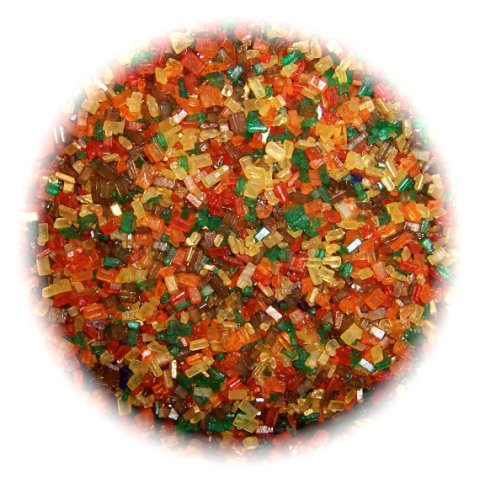 SUGAR CRYSTALS Autumn/Fall Edible Sprinkles Cake, Cakepops, Cookie and Cupcake Sprinkles Confetti Decorations