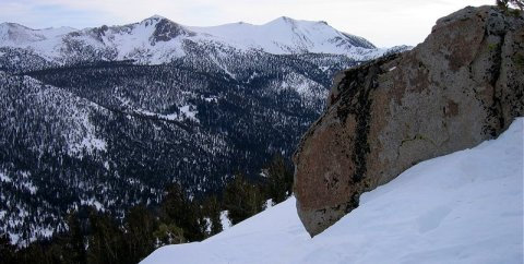 Freel Peak from Heavenly