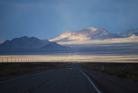 Highway 95 Nevada