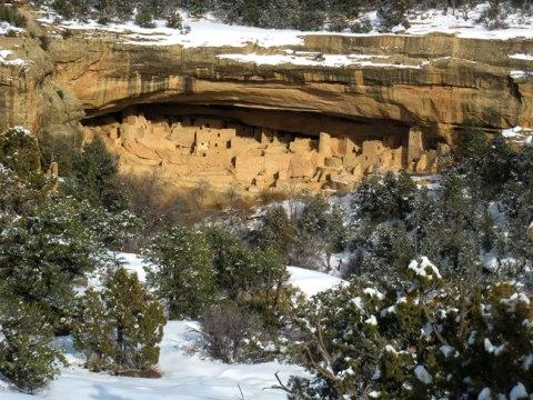 Mesa Verde snow
