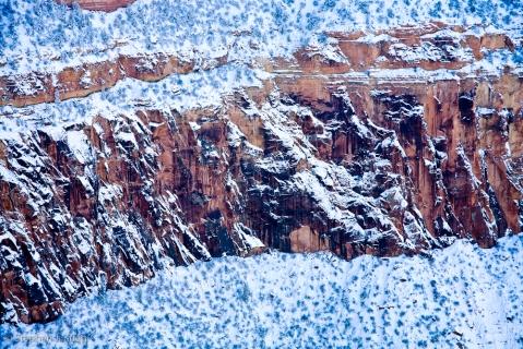 Snowy Coconino Sandstone Layer GC
