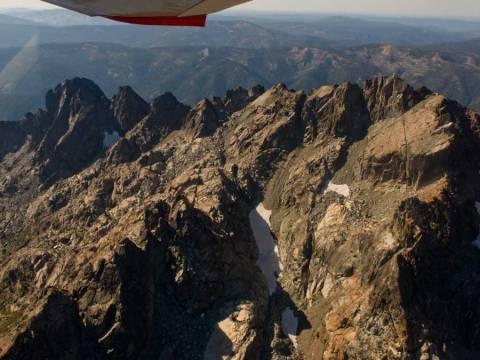 Aerial Sierra Buttes