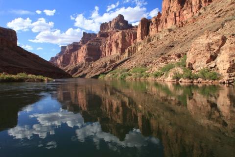 Colorado River looking upstream towards Little Colorado River