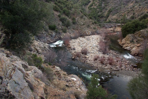 Kern River Rapids in Sequoia National Forest