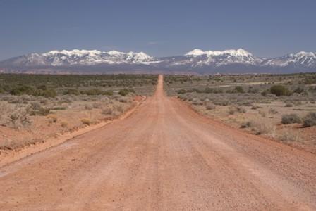 Long Canyon Road near Moab
