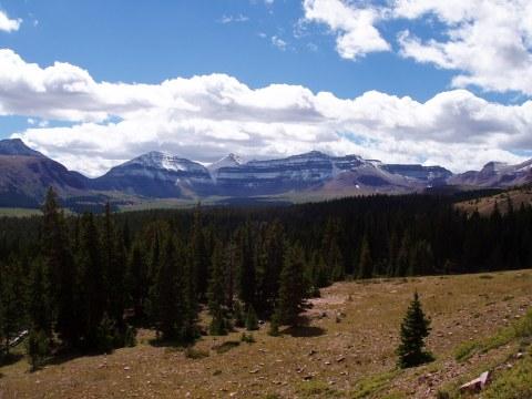 Kings Peak with Henry's Fork Basin