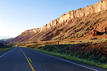 Highway 191 between Crescent Junction and Moab